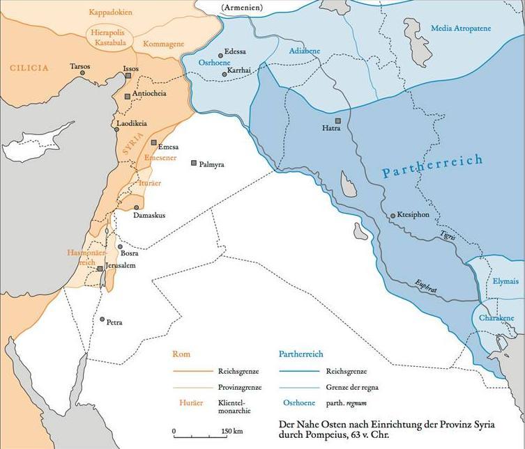 Karte Syria von Michael Sommer