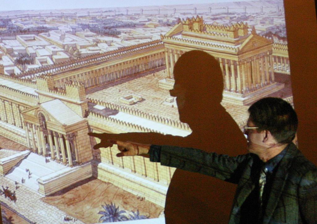 Palmyra - Vortrag M. Sommer, Arche
