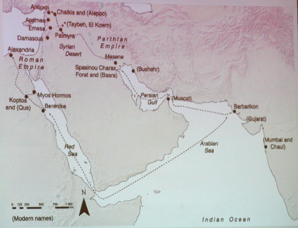 Handelsroute durch Palmyra - Vortrag M. Sommer, Arche