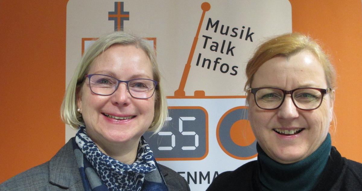 Sabine Müller und Claudia Oeljeschläger