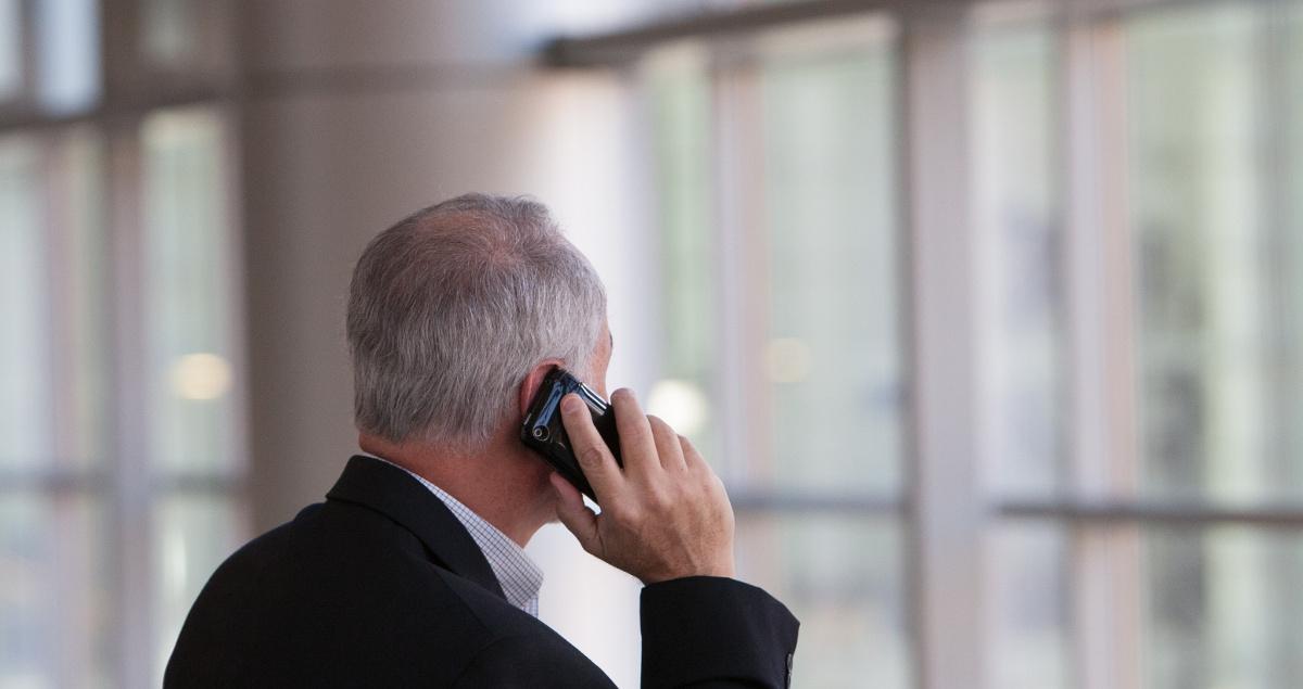 Telefonierender