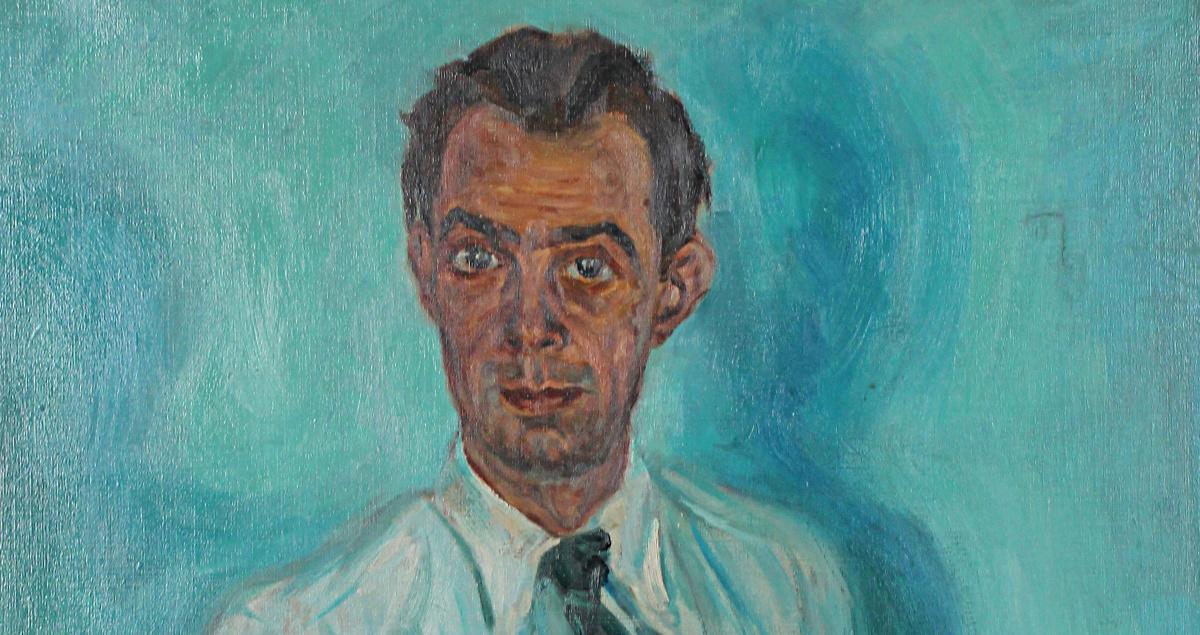 Selbstporträt Otto Honsalek
