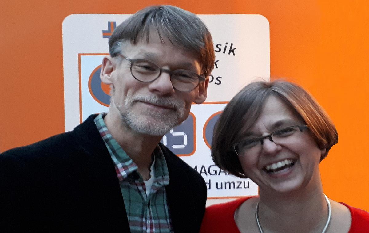 Kerstin Spradau-Kahnt und Andreas Kahnt
